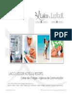 Cahier Des Charges Communication - Laico Hotels