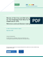 Review of Nutrition and Mortality Indicators for the IPC - Reference Levels and Decision-making