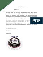 Idea de Negocio_tortas Capricho