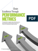 Supply Chain Performance Metrics