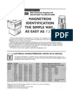 Magnetron Cross Reference