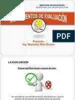Exposicion Instrumentos de Evaluación