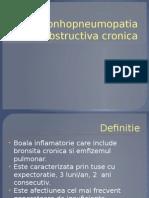 Bronhopneumopatia Obstructiva Cronica FMAM