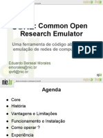 Core-1 Common Open Research Emulator - NIC_br