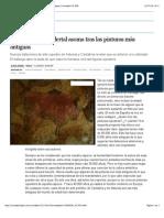 La mano del neandertal asoma tras las pinturas más antiguas   Sociedad   EL PAÍS