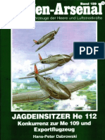 Waffen Arsenal - Band 159 - Jagdeinsitzer Heinkel He 112 - Konkurrenz zur Me 109 und Exportflugzeug