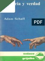 SCHAFF, A. Historia y Verdad