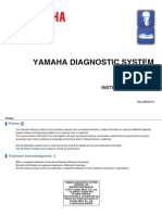 Manual Yamaha Outboard Diagnostics(YDIS-Ver2.00)