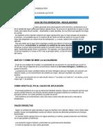 Ph Del Agua de Pulverización