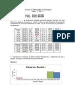 Trabajo de Análisis de Variables