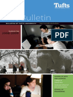 Tufts Bulletin 2008-09