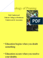 Biology of Pruning