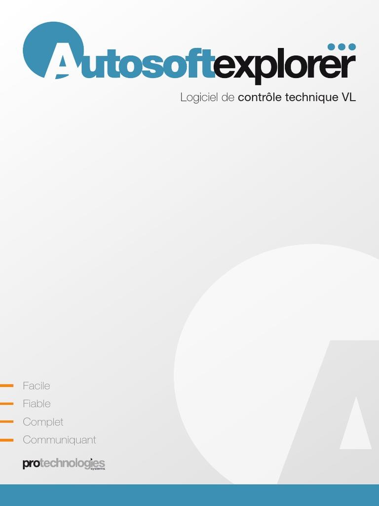 TÉLÉCHARGER AUTOSOFT EXPLORER GRATUIT