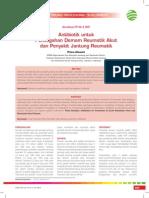 CPD 218 - Antibiotik Untuk Pencegahan Demam Reumatik Akutdan Penyakit Jantung Reumatik