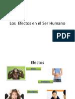 Los Efectos en El Ser Humano