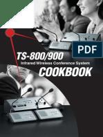 TOA Ts-800 Cookbook