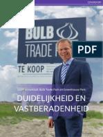 Greenport Ontwikkelingsmaatschappij ontwikkelt Bulb Trade Park en Greenhouse Park Bollenstreek