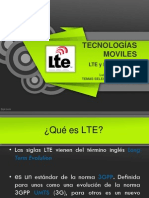 LTE y LTE Advanced