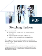 2013 Fashion Designer's Choice Sketching