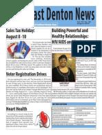 2014 AUGUST Southeast Denton News