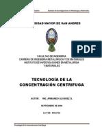 CURSO TECNOLOGIA CENTRIFUGA