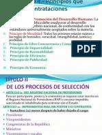 Ley de Contrataciones Del Estado.