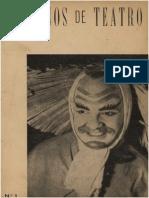 Caderno de Teatro