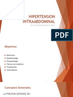 HIPERTENSION INTRAABDOMINAL