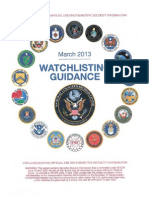 2013 Watchlist Guidance