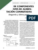 Prueba de Componentes en Fa Conmutadas 2a Parte