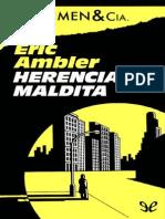 Herencia Maldita Eric Ambler