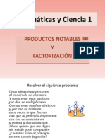 Prod Not Factorizacion