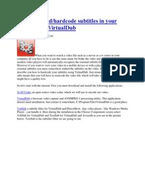 1.8.8 PROGRAMA BAIXAR VIRTUALDUB