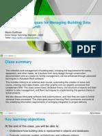 Advanced Techniques for Building Data in Revit - Presentation
