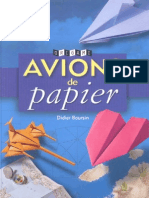 Boursin Didier - Avions de Papier
