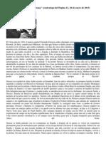 Juan Forn-la Cuestión Sartreana