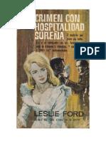 Ford, Leslie - Crimen Con Hospitalidad Sureña