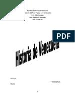 Historia de Venezuela BEBA
