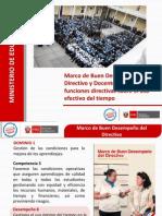 3 Marco Del Buen Desempec3b1o Directivo y Docente y Compromisos 3 y 4 Fichas 1 y 2