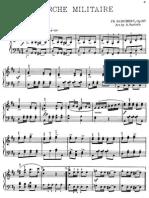 Schubert Marche Militaire