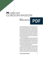 Mi Vida Con Gordon Wasson