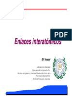 01.- Enlaces Interatómicos