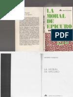 Antonio Pasquali, La Moral de Epicuro