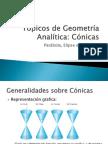 Tópicos de Geometría Analítica