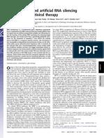 Seminario 10 Nanoparticle-based Artificial RNA Silencing Machinery for Antiviral Therapy