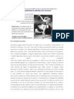Acerca de La Pulsion Sexual en La Teoria Psicoanalitica