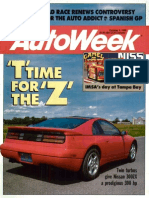 Autoweek October 9, 1989