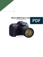 NIKON D200 Users Guide