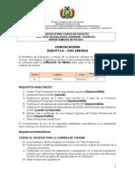 CDO 180 POTOSI Ins Tecnologico Superior Charcas