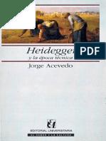 Acevedo Jorge - Heidegger Y La Epoca Tecnica